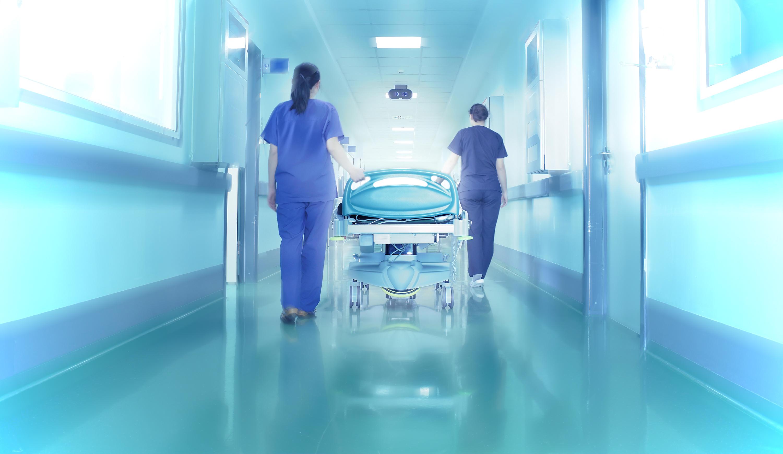Nurses in emergency room