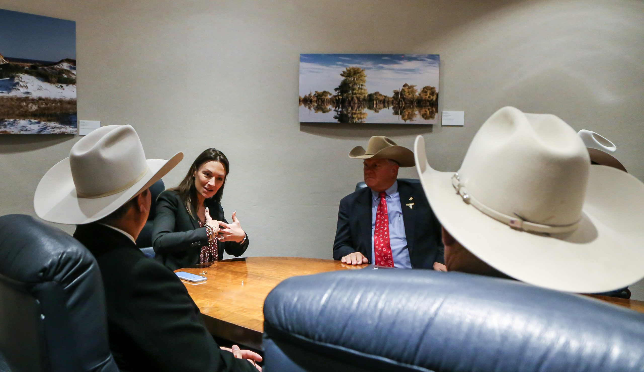 Nikki Fried meets with Florida cattle ranchers