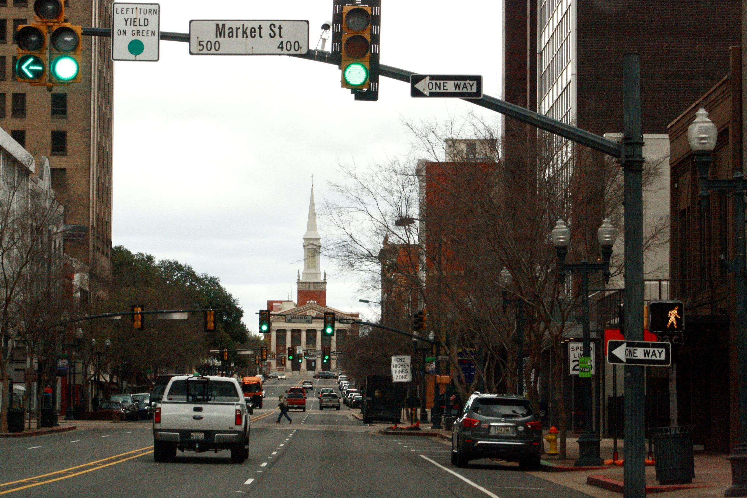 street view of downtown Shreveport