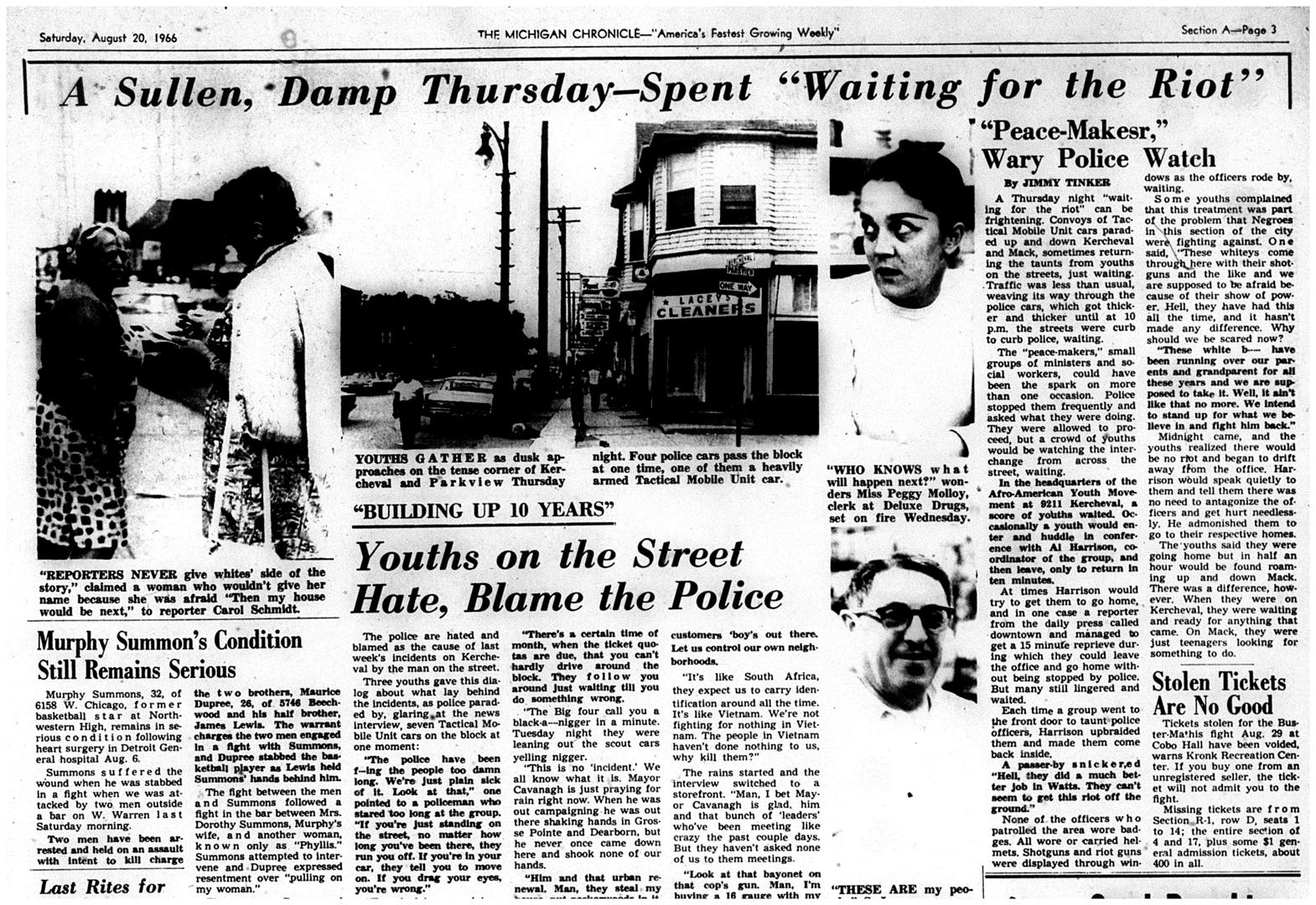 Michigan Chronicle, 1966